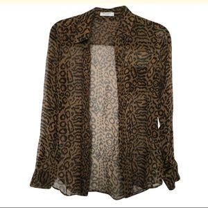 EQUIPMENT Leopard Print Blouse